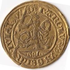 Cavalier d'or (Reitergoldgulden) Brabant