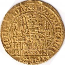 1/4 gold guilder (1/4 de vieille chaise d'or) Flanders