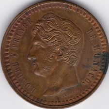 Un décime Monaco 1838 frappe spéciale