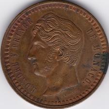 Decime Monaco 1838 – Spezialprägung