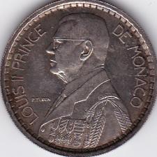 20 Francs Essai Monaco 1945 Argent