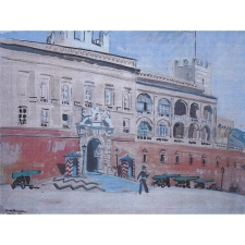The Prince's Palace of Monaco by Brayer