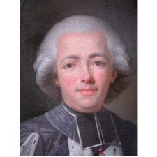 His Highness Louis André de Grimaldi attributed to Guillaume Voiriot